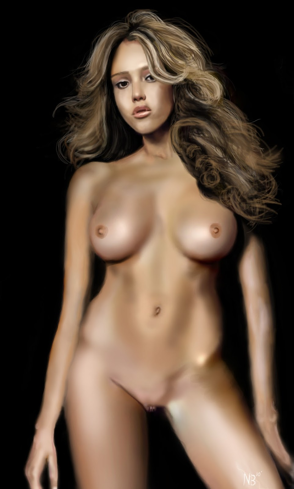 jessica alba naked photo shoot