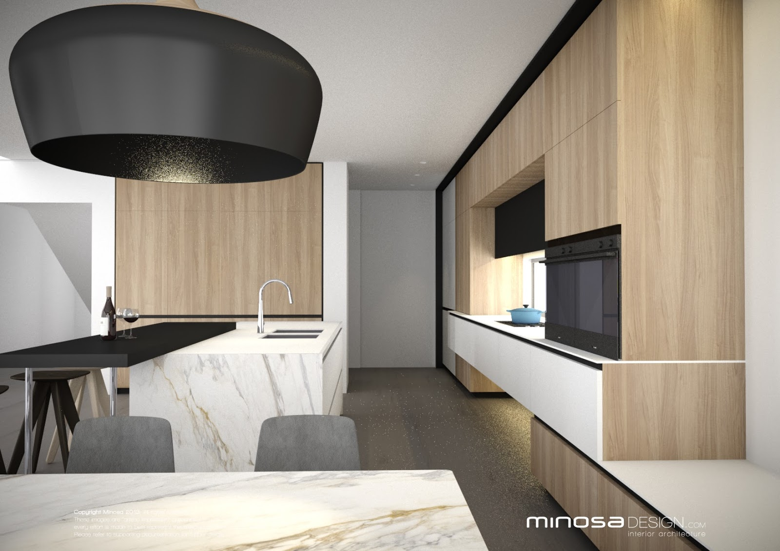 Minosa The Modern Living Room Kitchen Lounge Dine