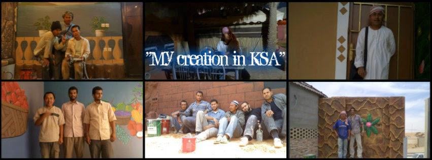 <center>my creation in KSA</center>