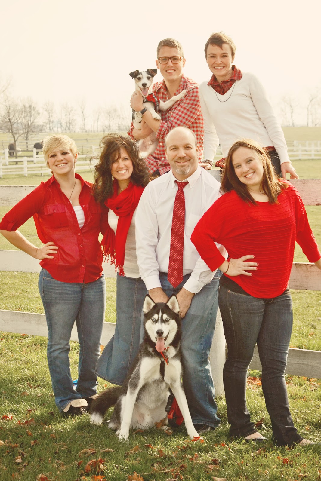 Family Christmas Card Outfits