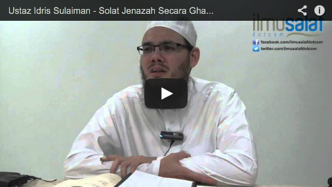 Ustaz Idris Sulaiman – Solat Jenazah Secara Ghaib untuk Mangsa Pesawat #MH370