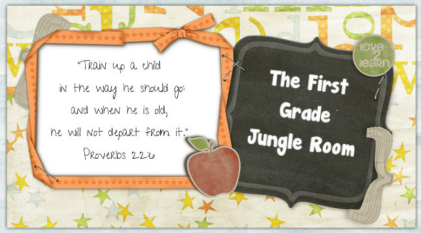 The First Grade Jungle Room