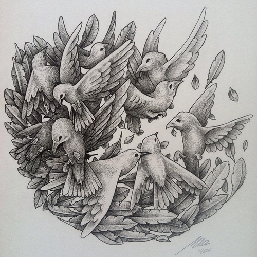 22-Birds-Muthahari-Insani-Beautifully-Detailed-Ink-Drawings-and-Doodles-www-designstack-co