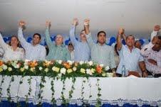 HM juramenta equipos de campaña de la Vega y Bonao ; reitera compromiso de trabajar a favor de la juventud y las mujeres