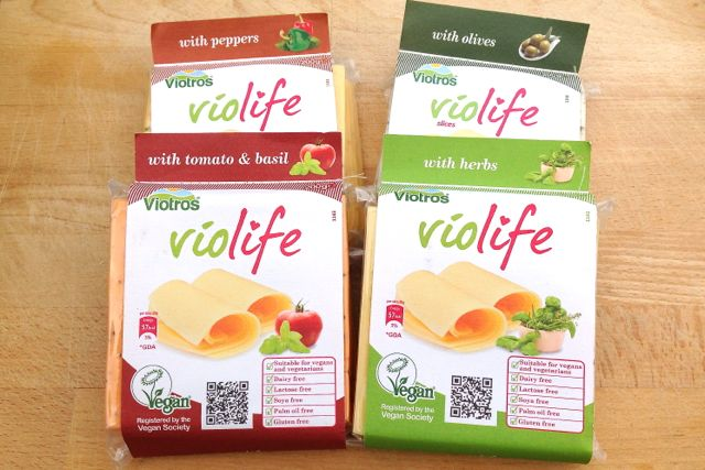 Violife Flavoured Cheeses