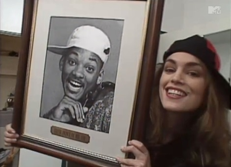 Cindy Crawford and Will Smith