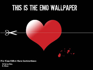This Is The EMO Wallpaper Dark Gothic Wallpaper