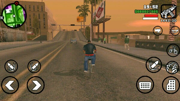 GTA (Grand Theft Auto) San Andreas Apk