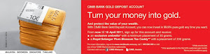 CIMB Bank Gold Deposit Account