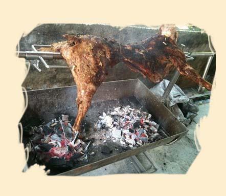 BBQ kambing Mei 2011...