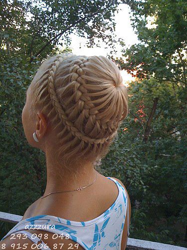braid hairstyle haircolor