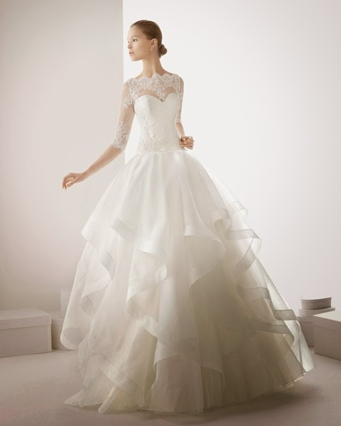 On the wedding day like a princess Katharine-fashion is beautiful
