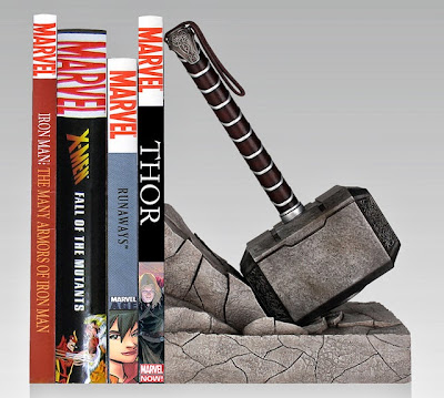 Mjolnir Thor's Hammer bookend