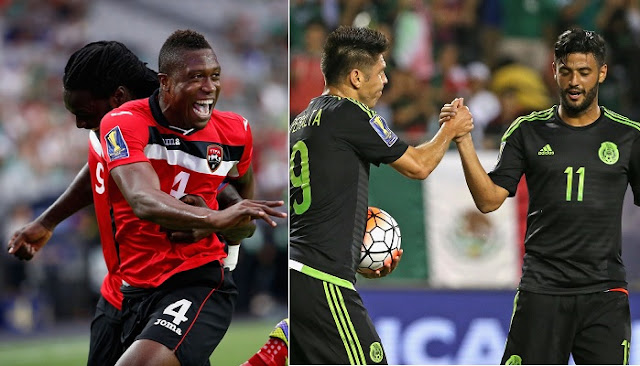Mexico vs Trinidad y Tobago en vivo
