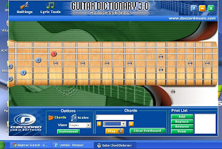 D'Accord Guitar Chord Dictionary 3.0