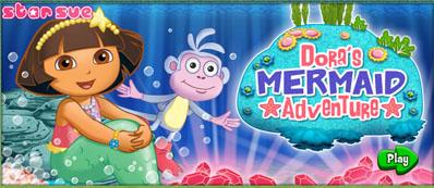 Juegos De Dora Dora En El Mar 3d Lorena Games
