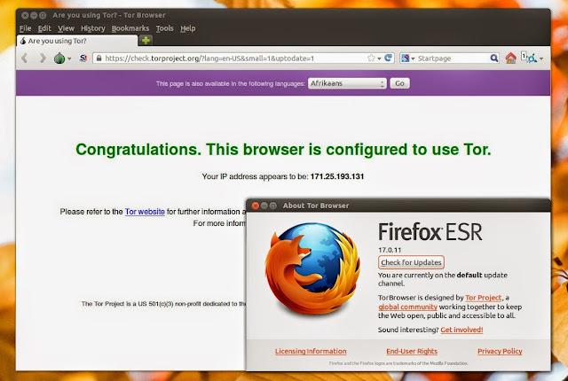 Tor Browser no Ubuntu