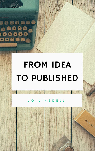 "#WNFIN Prep: Draft Cover Art for ""From Idea to Published"" #Writing #NovChallenge"