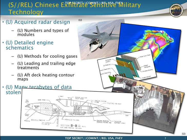 Chinese Spies Stole F-35 Fighter Design, Edward Snowden Reveals, China stole plans for a new fighter plane, spy documents have revealed, China calls Snowden's stealth jet hack accusations 'groundless', China Stole F-35 Fighter Jet Plans, Snowden Leak Confirms, Snowden leaks,