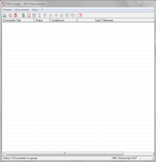 PDFCreator Home screen shot