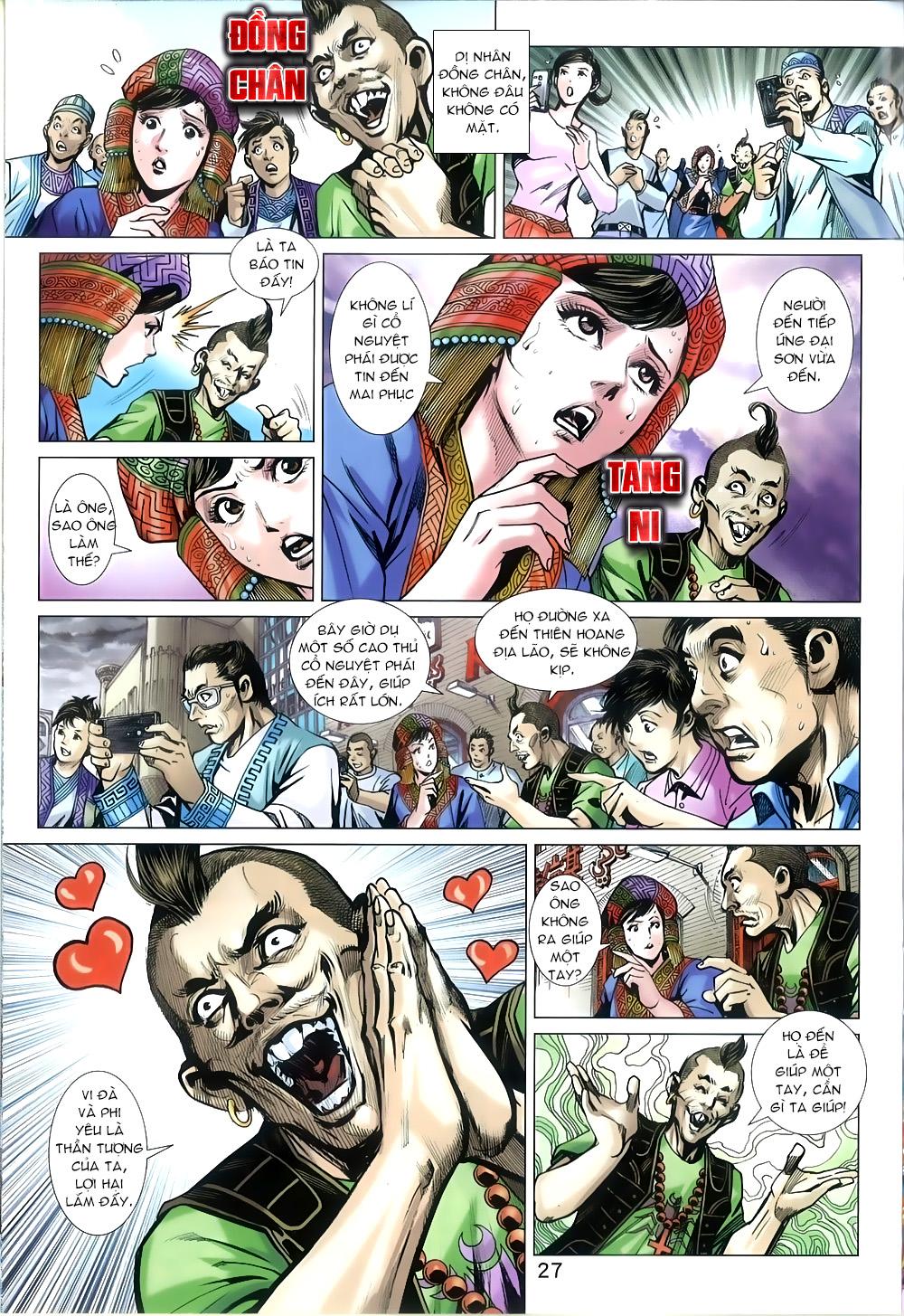 Tân Tác Long Hổ Môn chap 816 Trang 27 - Mangak.info