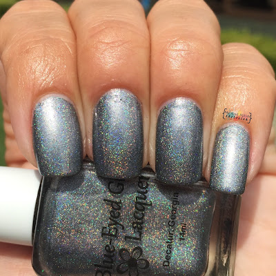 Blue Eyed Girl Lacquer Heat Lightning