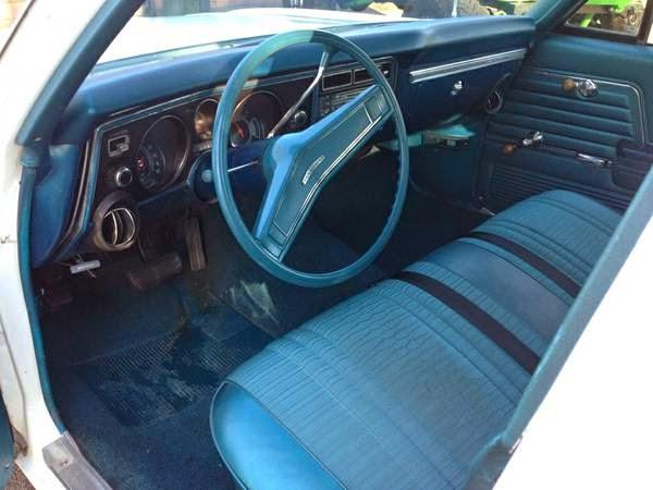 Chevy Chevelle Malibu Interior Cabin