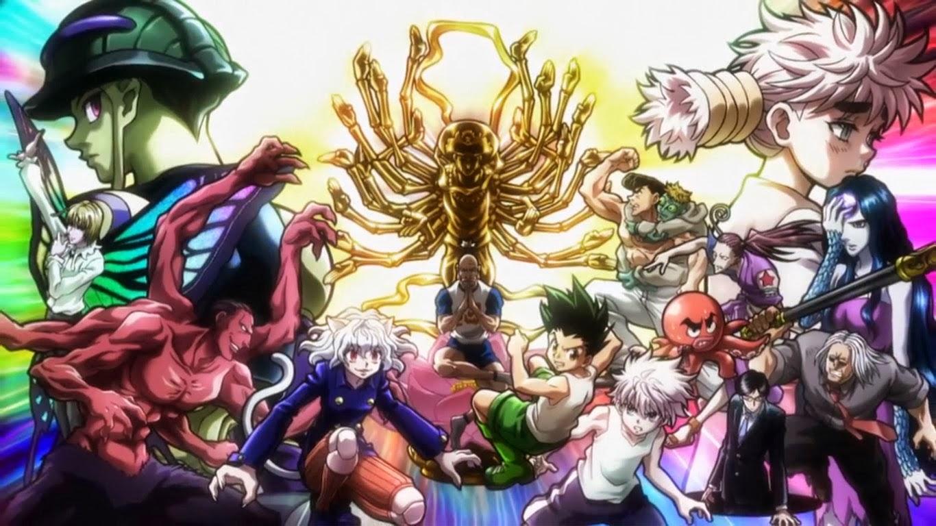 Hunter × Hunter (ハンター×ハンター Hantā Hantā)