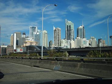 Sydney z auta