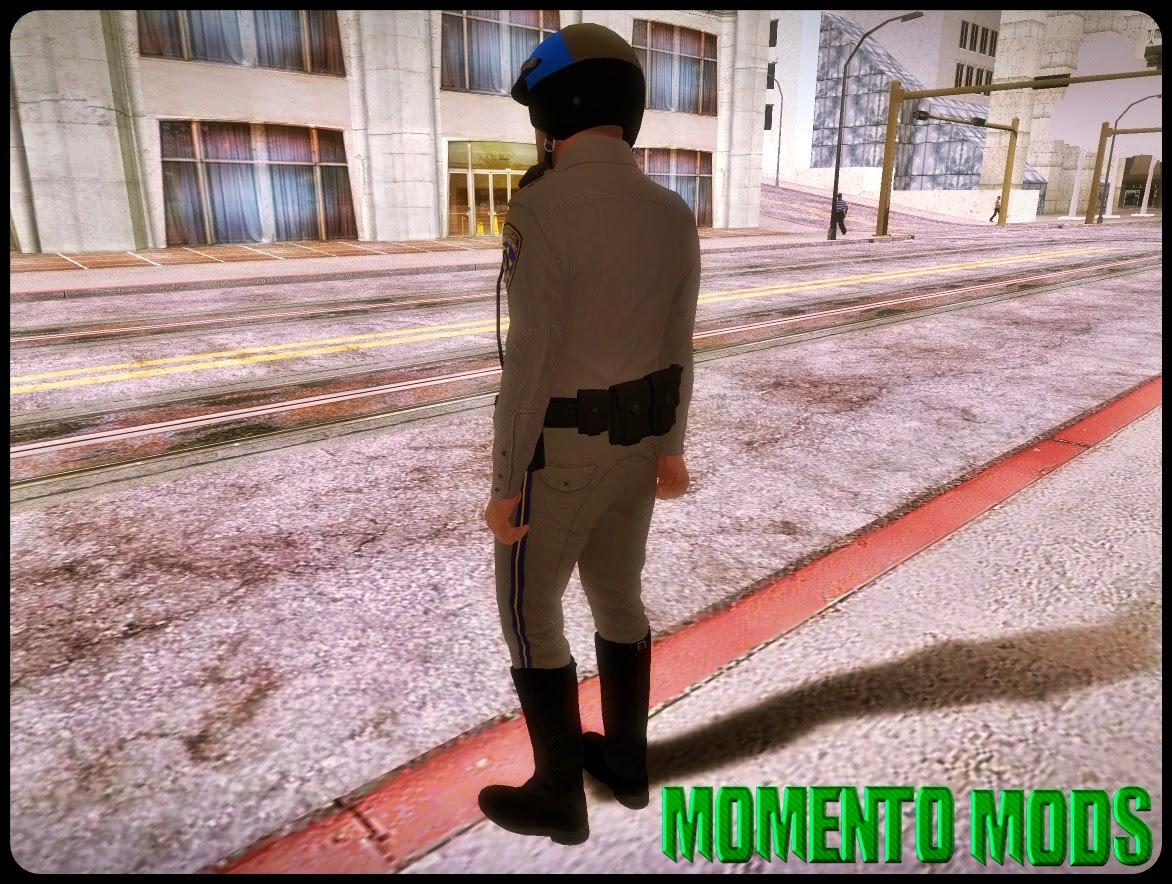 GTA SA - Skin Do Michael De Policial Do GTA V