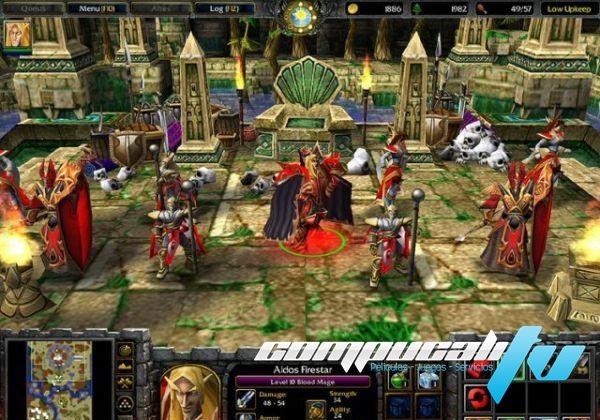 Warcraft 3 The Frozen Throne PC Full Español Expansión