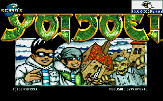 Yo! Joe! Amiga title screen