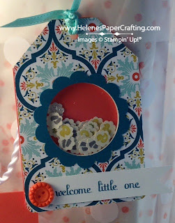 Welcome Little One Gift Tag