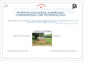 Fundação do Purna Ananda Ashram