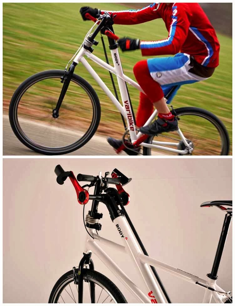 Varibike lets you pedal with your legs – and your arms