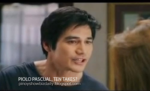 Piolo Pascual gets ten takes in one scene for Starting Over Again