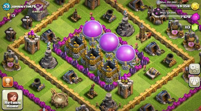 Tips Pertahanan Terbaik dengan Unlimited Shield di Clash Of Clans