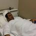 صور المعلق عامر عبدالله  في المستشفى في سرير المرض ..!؟