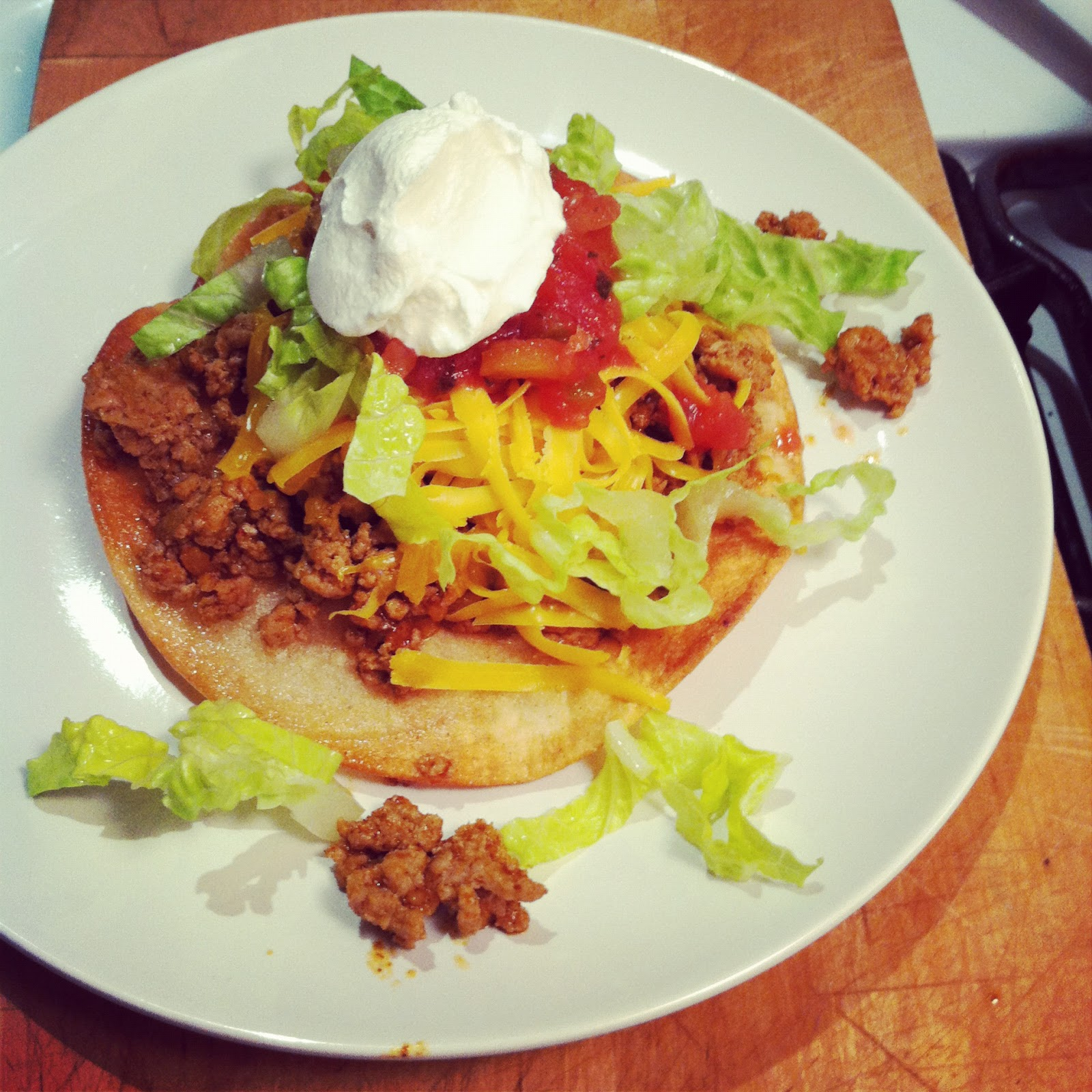Quest for Delish: Tostada