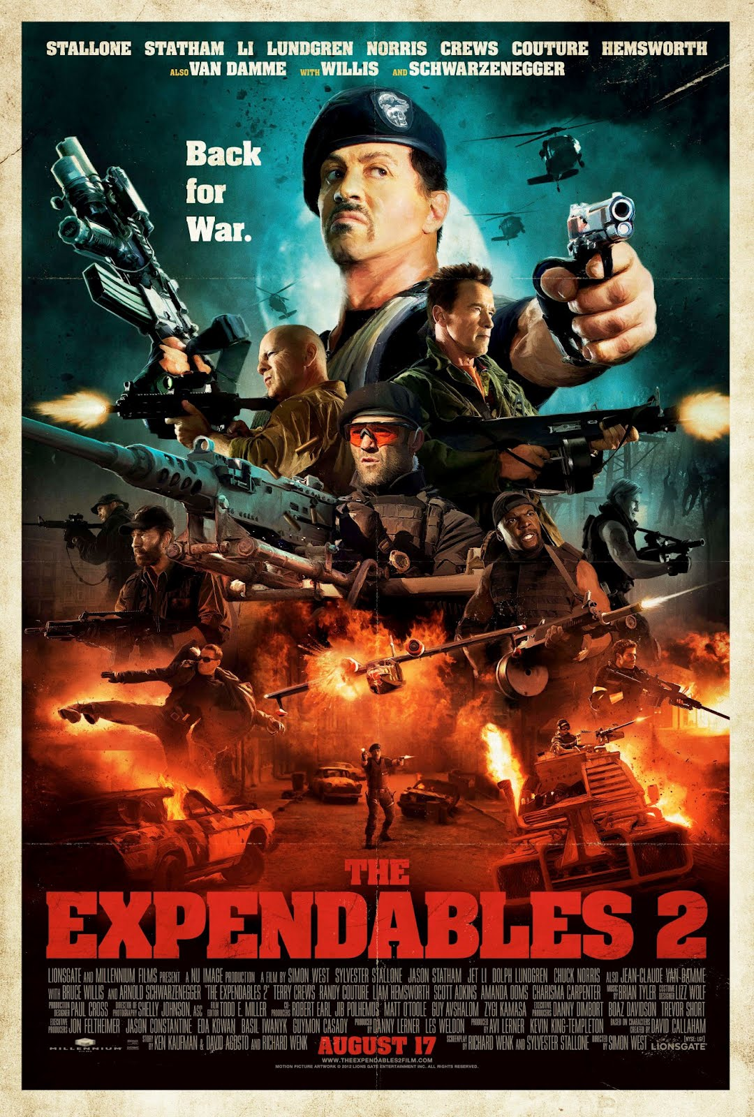 play and download the expendables 2 online flash game | free