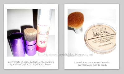 Face make-up routine