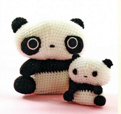 Amigurumi Panda Patroon : AmiCastle: TarePanda Amigurumi Pattern