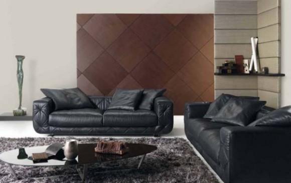 Varios estilos de living rooms por natuzzi c mo arreglar for Natuzzi muebles