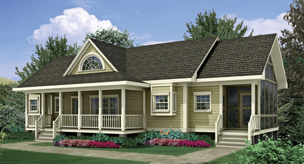 Ideas for Front Porch Raised Ranch Style Homes
