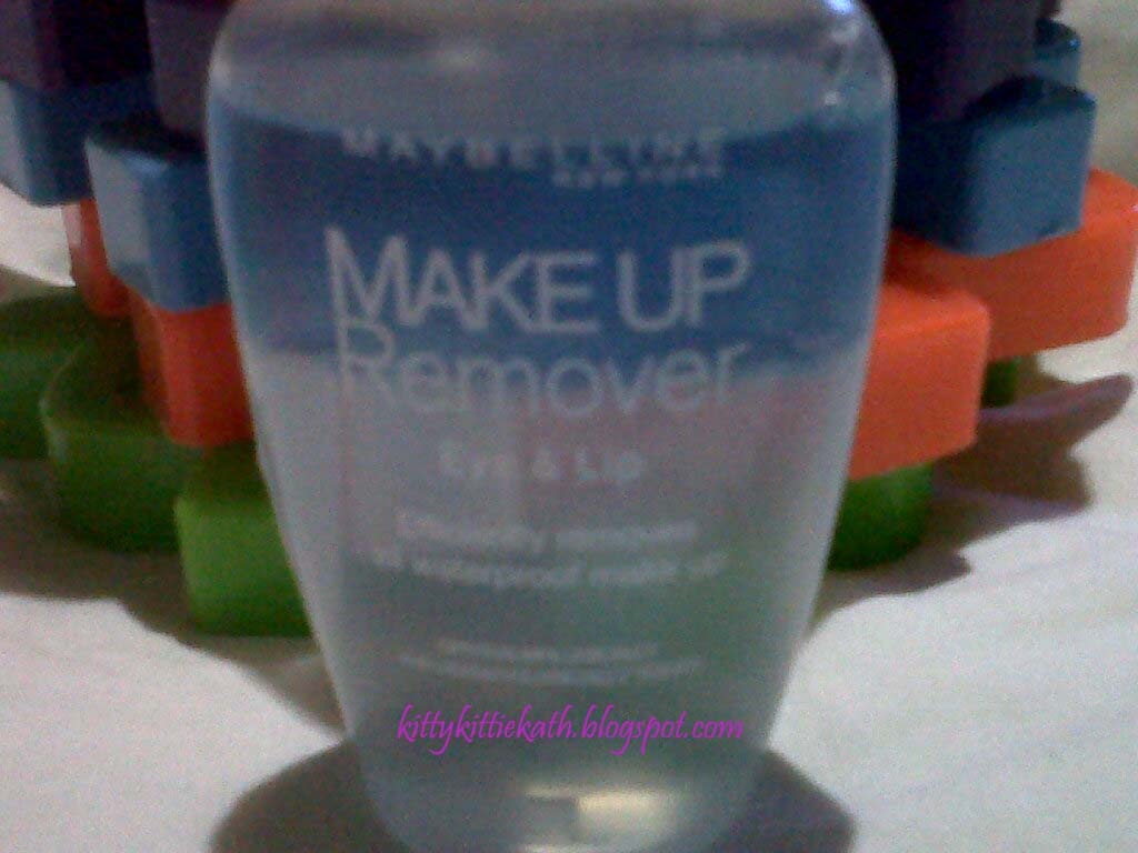 Product Review Maybelline Makeup Remover Eye And Lip Dear Kitty