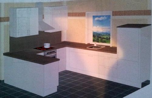 ein haus f r uns einrichtungs garten und baublog unsere k che. Black Bedroom Furniture Sets. Home Design Ideas