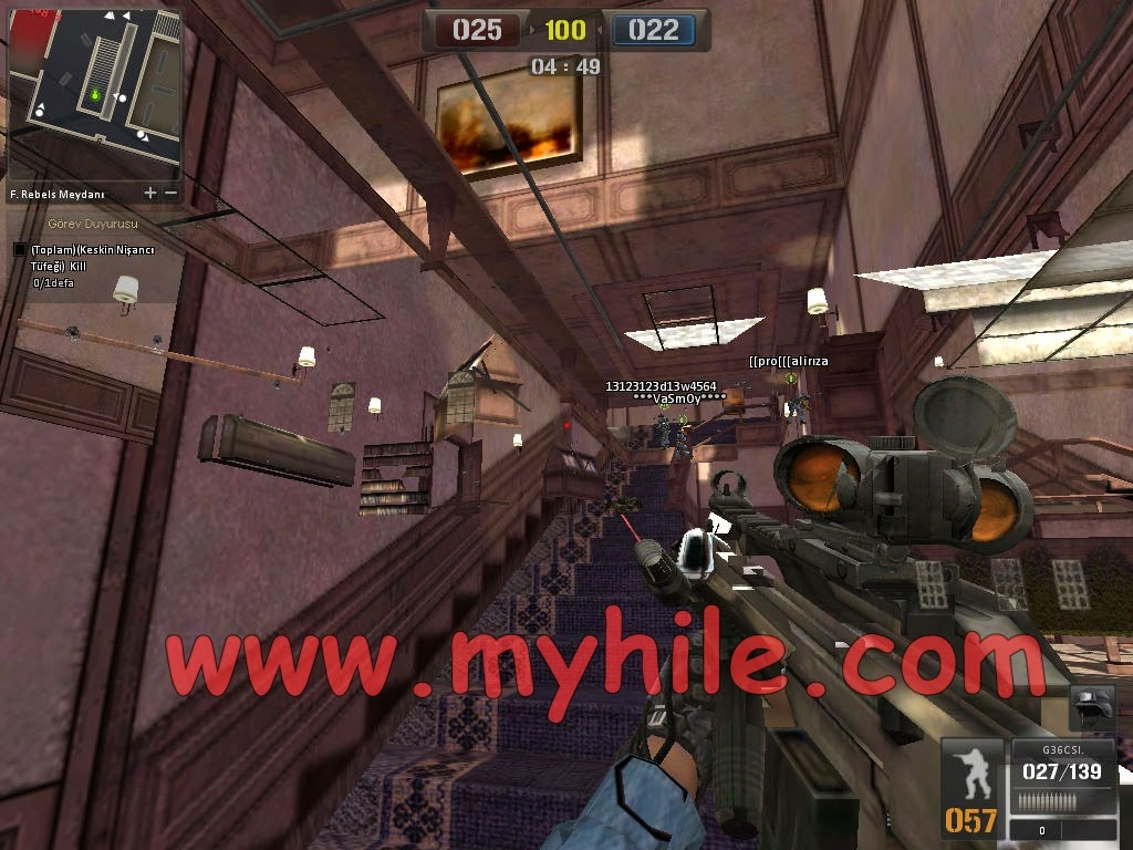 point blank wall hack 2014
