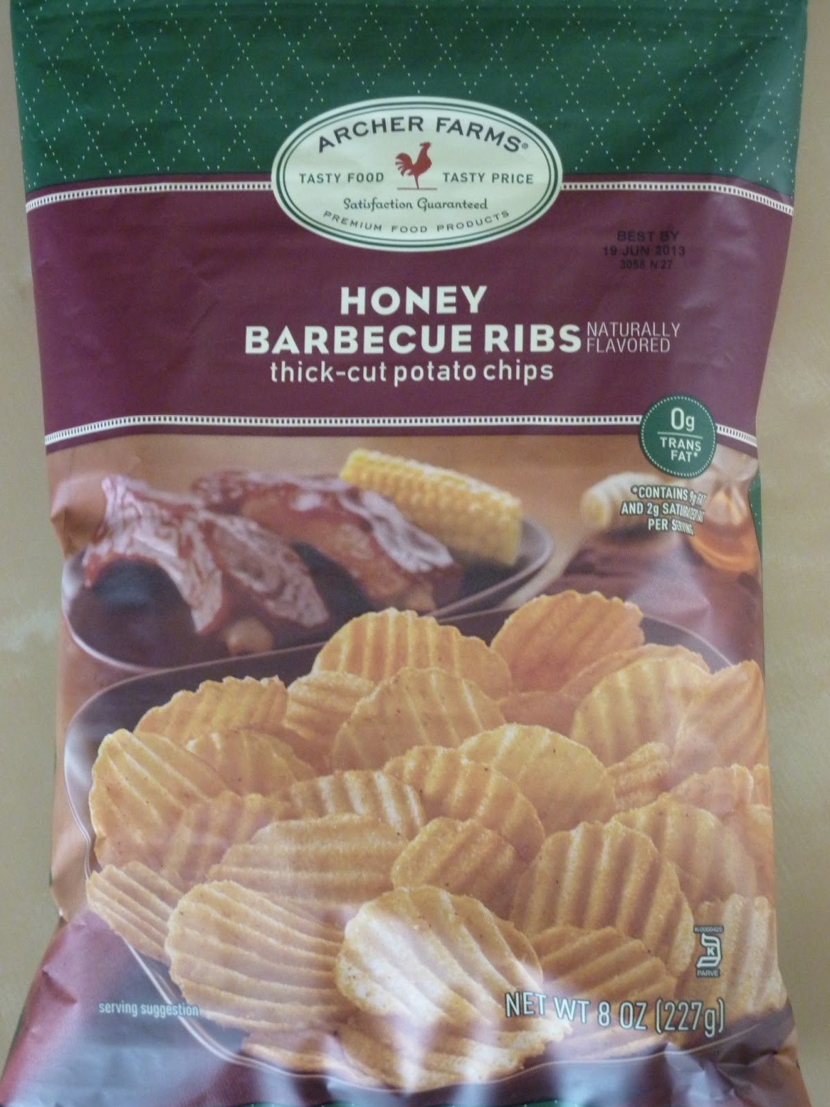Barbecue Chips Honey Barbecue Ribs Chips