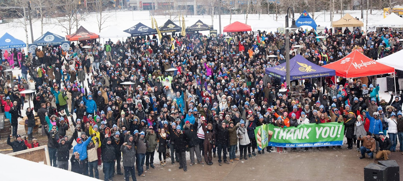 The purple scarf january 2016 for Craft beer festival toronto