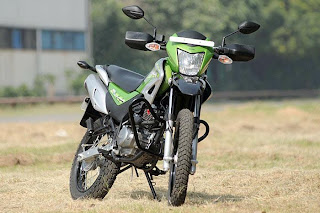 new hero motocorp impulse front view